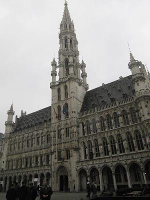 hotel de Ville, ayuntamiento de Bruselas, Grand Place, Grotte markt