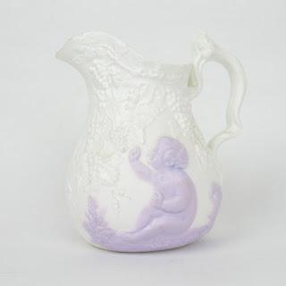 Samuel Alcock Porcelain Creamer