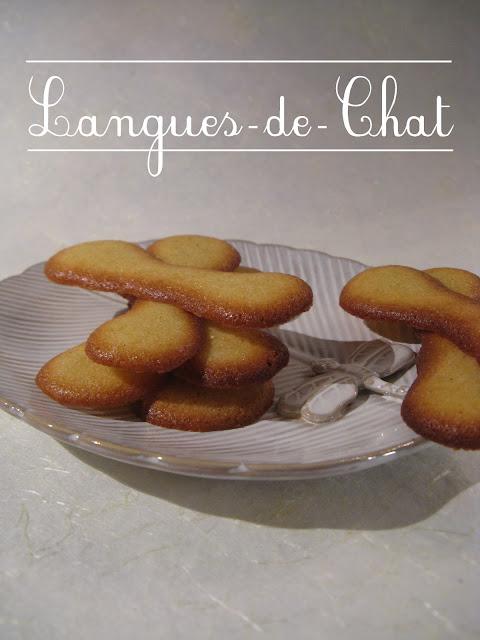Qui n'a jamais mangé de Langues-de-chat, ces petits biscuits qui ...
