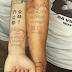Jogador do Grêmio e noiva fazem tatuagem de pedido de casamento
