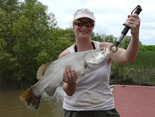 One of the nice things about wet season safaris, the fish are usually biting