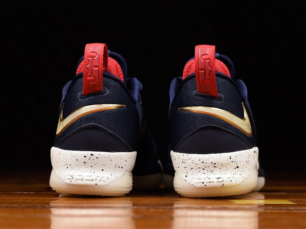 finest selection 8fe11 03d2b ... Closer Look at Nike LeBron 14 Low Cavs Alternate USA ...