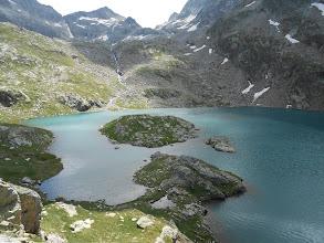 Photo: Le premier Gourg Blanc : le lac des Isclots.