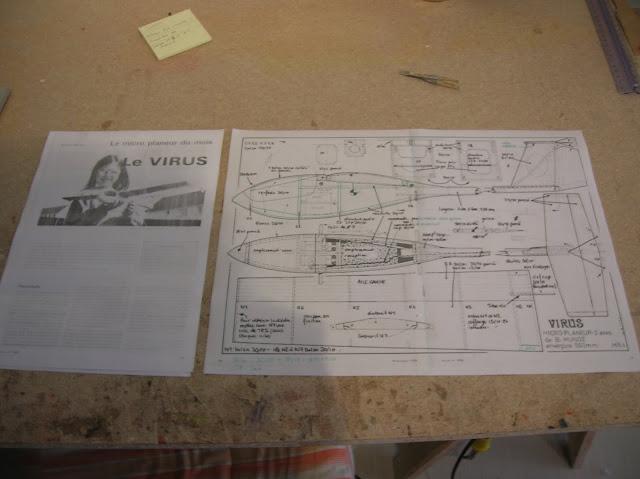 Construction micro planeur Virus  DSCN4304
