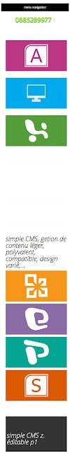Bienvenue sur simple cms - simple CMS gestion de contenu simple et puissant - 320x480e