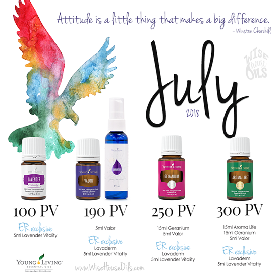 July 2018 Young Living Promo WHO