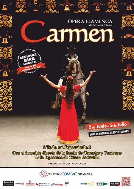 Carmen, Opera Flamenca en el Compac Gran Vía