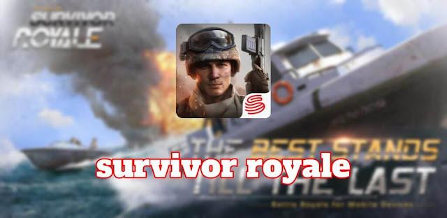 تحميل لعبة survivor royale مهكرة للاندرويد