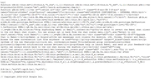 Babel Script