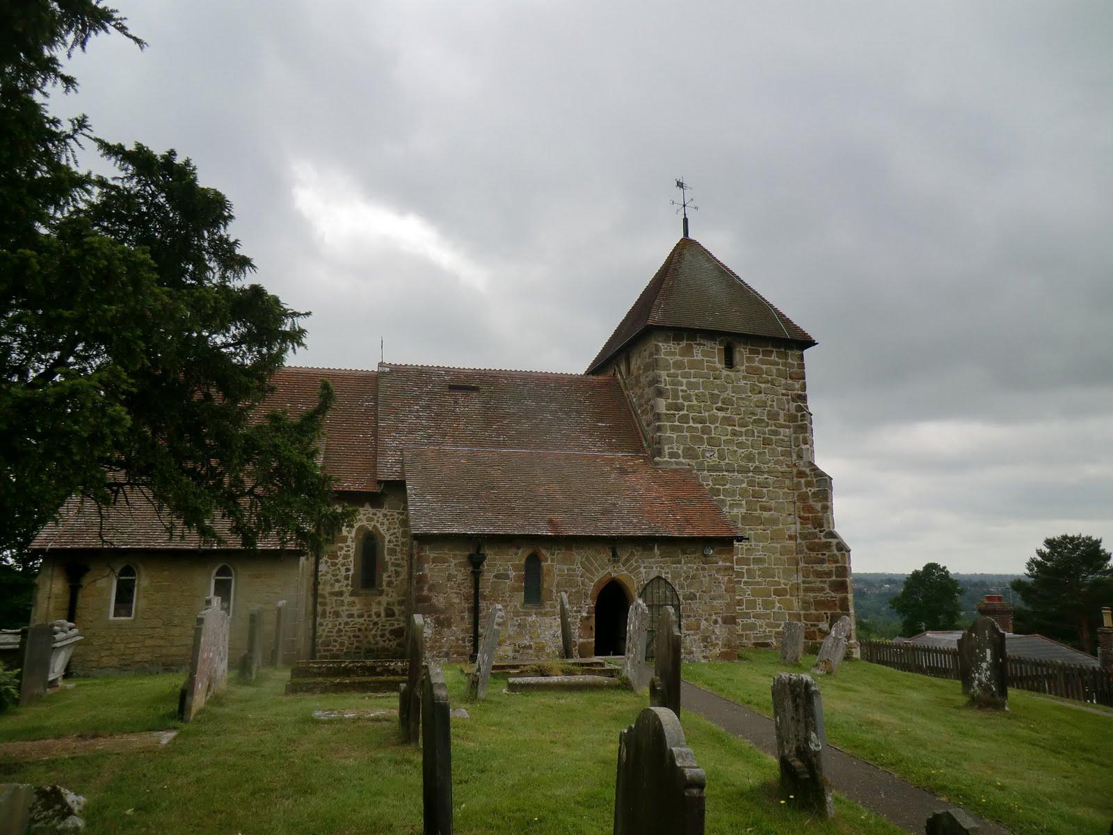 CIMG8590 St Lawrence's church, Bidborough