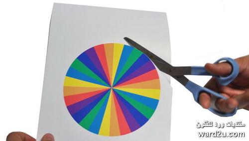 15 - Show color wheel ...