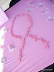 Freebie pink ribbon pins!