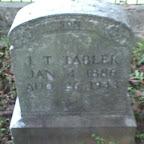 J. T. Tabler - 1886 - 1945 Gleaves - Tabler Cemetery Mt. Juliet, Tennessee