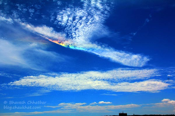 Circumhorizon Arc, Circumhorizontal Arc, Lower Symmetric 46° Plate Arc, Fire Rainbow