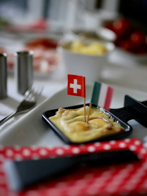 Raclette mit Originalkäse