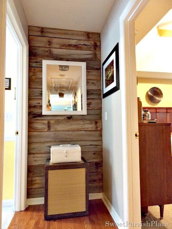 Diy Rustic Wood Wall For Free