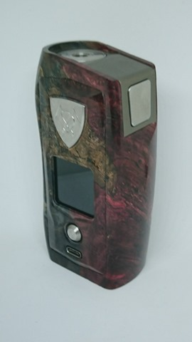 DSC 3104 thumb%255B2%255D - 【MOD】VICIOUS ANT 「KNIGHT STABWOOD #084(SX550J)」レビュー。YiHiハイエンドチップを搭載したスタビMOD!カラー液晶&Bluetooth【高級/スタビライズドウッド/電子タバコ/VAPE/フィリピン製】