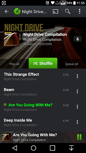 PlayerPro Music Player Trial screenshot 4