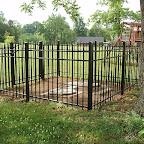 New Fence Henry Thomas & Martha Ann Virginia Gleaves Cemetery Wilson County, Tennessee
