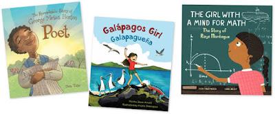 A set of three children's books