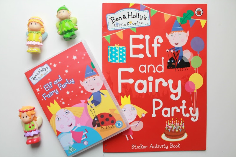 ben and holly elf and fairy party dvd book review