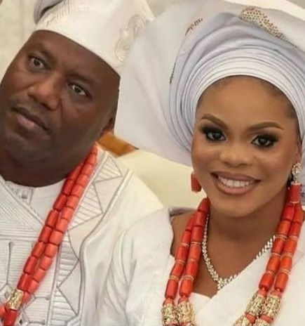 Mercy Aigbe's ex-husband, Lanre Gentry hails his new wife as he weds again
