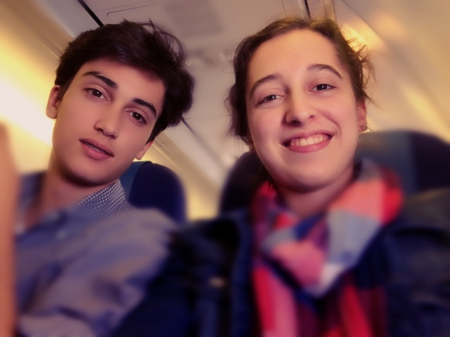 rome travel plane shopping