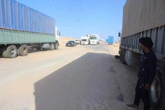 Con la ayuda de la Minurso, militares camuflados y agentes de servicios de inteligencia marroquíes invaden la línea de separación en El Guerguerat.