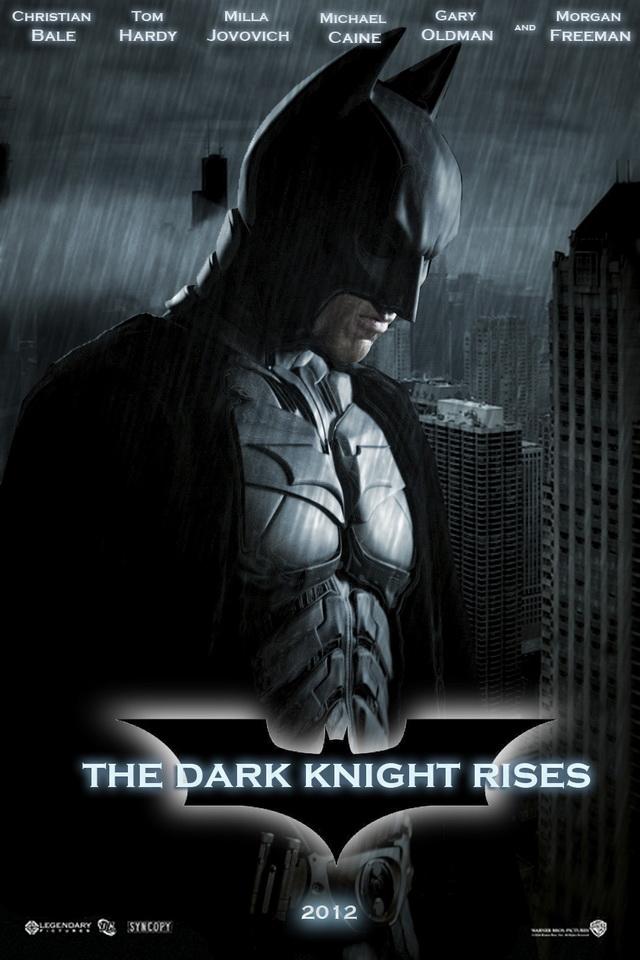 iPhone4 Wallpapers Batman The Dark Knight Rises