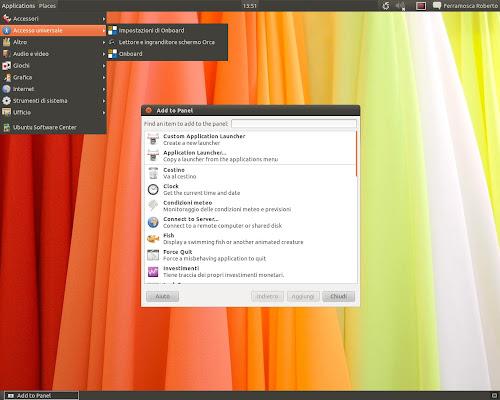 Gnome Classic su Ubuntu 11.10