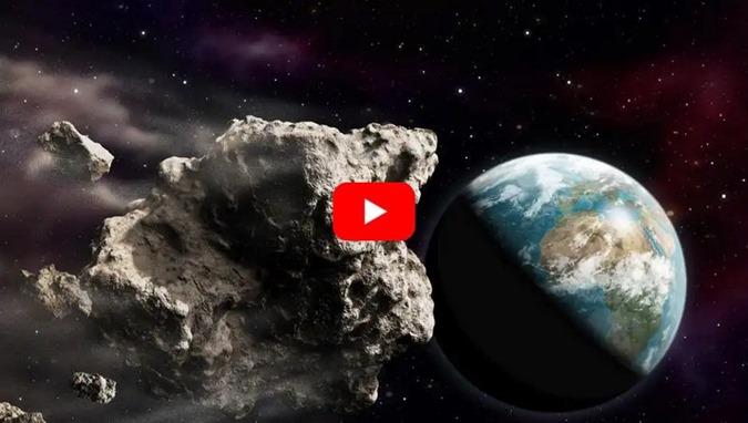 O asteróide, chamado 2018 GE3, aproximou-se da Terra e surpreende a NASA
