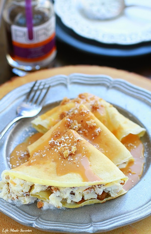 Maple Pecan Praline Crepes make a delicious breakfast or brunch..jpg