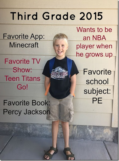 Josh 3rd Grade