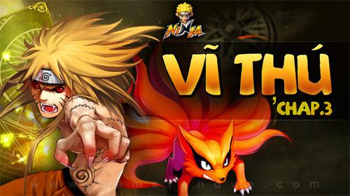 GameLandVN tặng 300 giftcode Vĩ Thú game Ninja 2