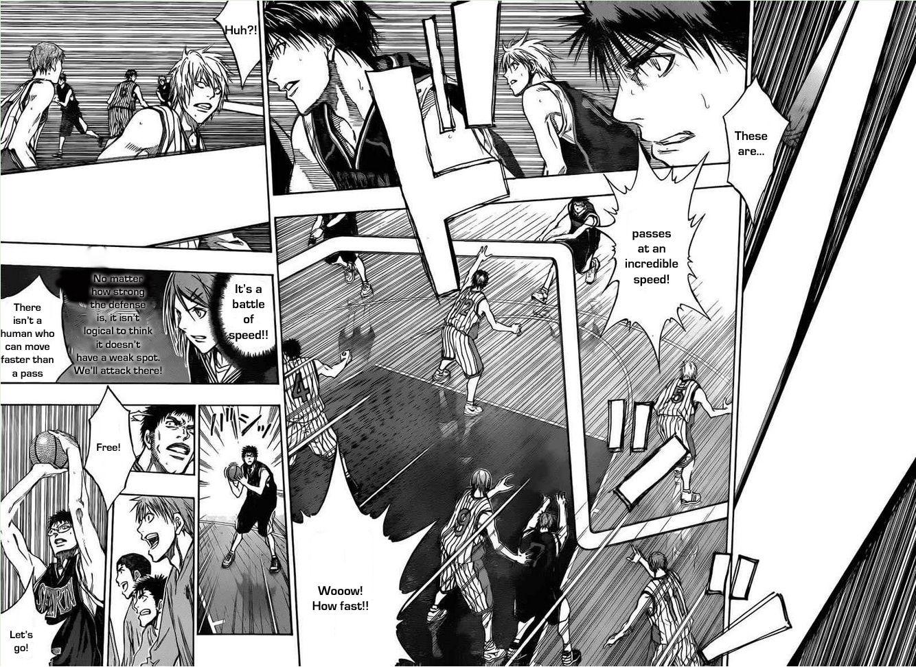 Kuroko no Basket Manga Chapter 146 - Image 07-08