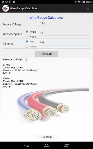 Wire gauge calculator apk 140 download only apk file for android wire gauge calculator greentooth Gallery