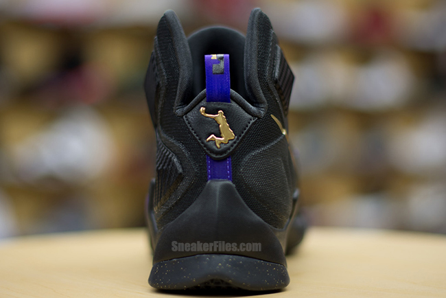 best sneakers 50301 ed7de ... A Possible Preview of the BHM Dunkman LeBron 13 in Black amp Gold
