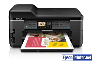 Reset Epson WorkForce WF-7511 lazer printer by program