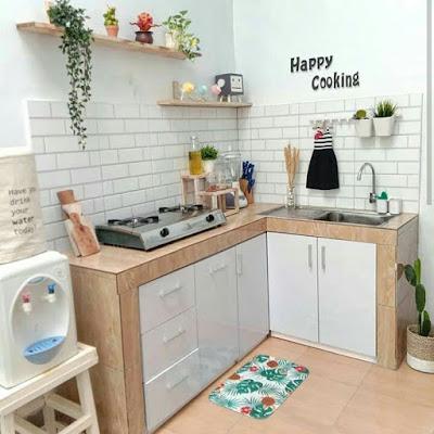 Interior untuk dapur kecil