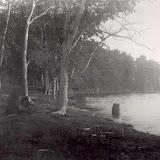 Water barrel on Apple Island Circa 1900