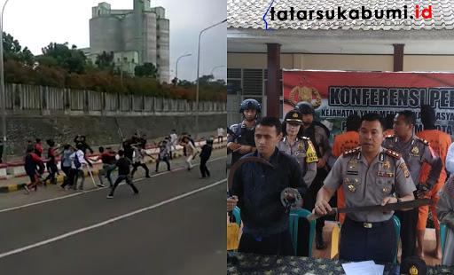 Tawuran Pelajar SMK di Sukabumi 3 Pelaku Terancam Penjara