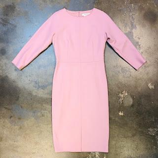 Max Mara Blush Pink Shift