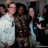 WWW.ENTSIMAGES.COM -  Oliver Proudlock and AnneMarie Flemming  at Serge  at DeNimes: Proudlock's Carnival '78 - launch party  Imitate Modern, 27a Devonshire Street, London  April 10th 2013Photo Mobis Photos/OIC 0203 174 1069
