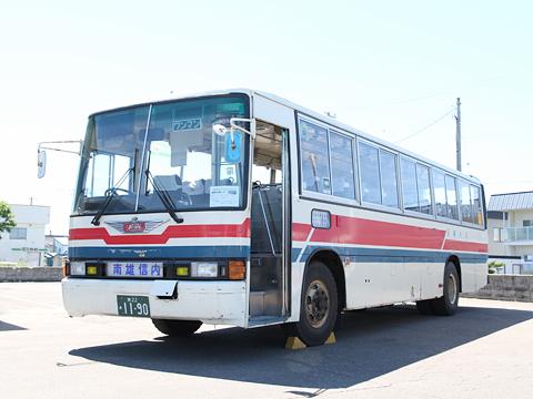沿岸バス 羽幌線代替バス 初代車両