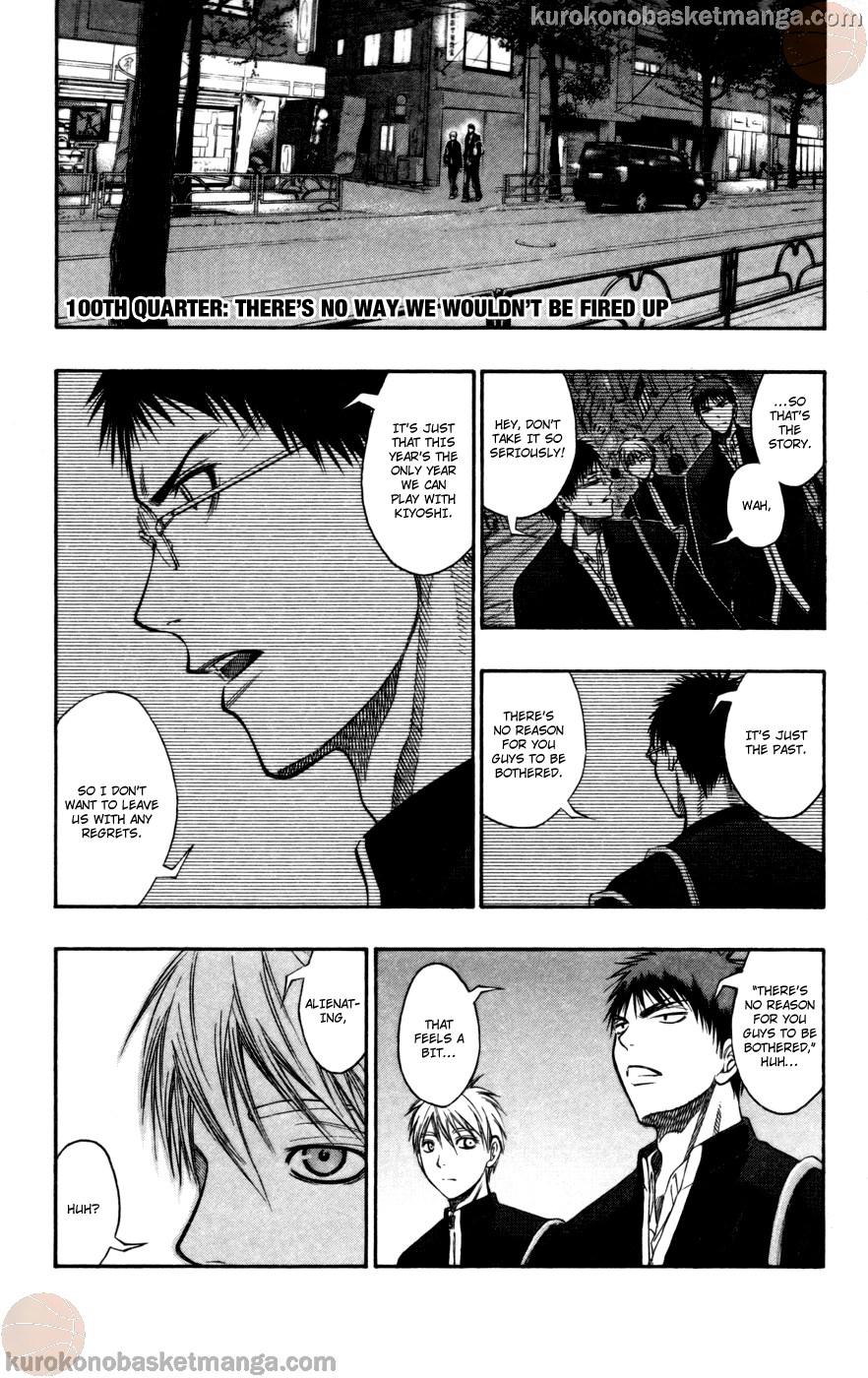 Kuroko no Basket Manga Chapter 100 - Image 05