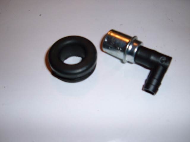1953-1962 PCV kits, remove road draft tube and install this grommet and PCV, 14.00