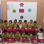 Hexagon Day Celebration by Nursery Afternoon Section at Witty World, Chikoowadi (2018 - 19)