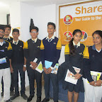 Field Trip to Share Market (XI Commerce and Science) 9-12-2015