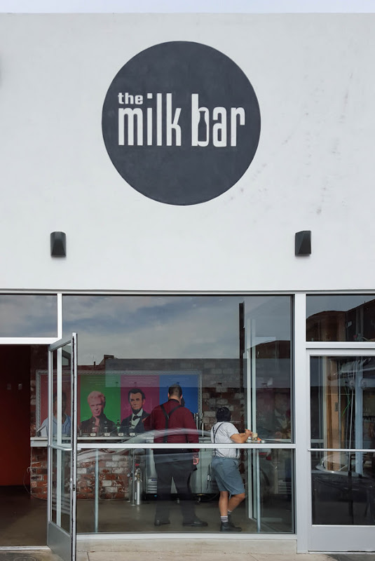 photo of the outside of The Milk Bar