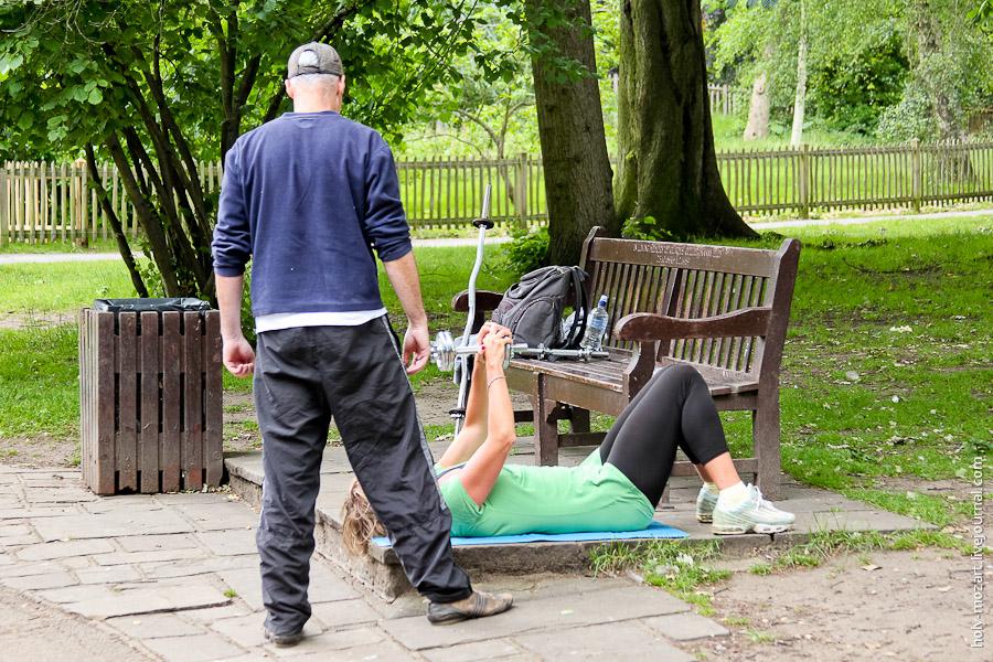 Голландский парк в Лондоне